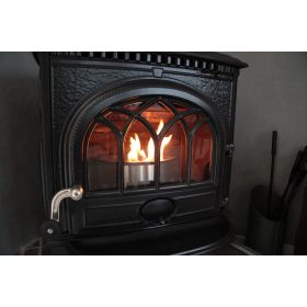 QAITO Q10 for small fireplaces and small woodstoves