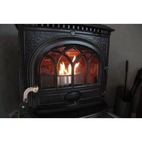Q10 pour petits foyers (ouverts ou fermés) et petits poêles à bois