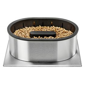 QAITO 30 Pellet burner for large fireplaces with insert or woodstoves